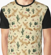 Desert of the Fennec Fox Graphic T-Shirt