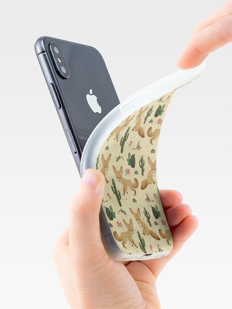 Alternative Ansicht von Wüste des Fennec Fox iPhone-Hüllen & Cover