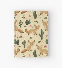 Desert of the Fennec Fox Hardcover Journal