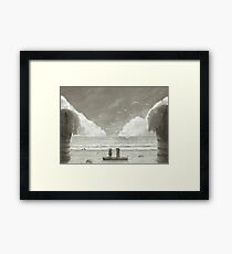 If i Was a Seagull B&W ed.  Framed Print