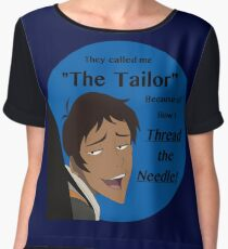 "Lance ""The Tailor"" Chiffon Top"