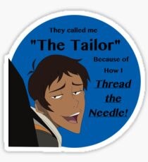 "Lance ""The Tailor"" Sticker"