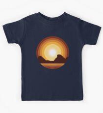 Circle Sunset Kids Clothes