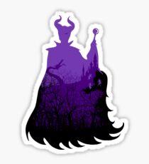 Midnight Maleficent Sticker