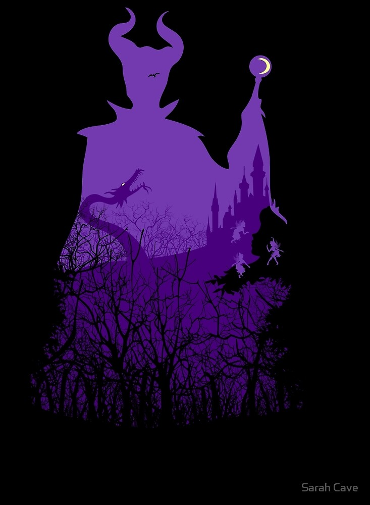 Midnight Maleficent by Sarah Cave