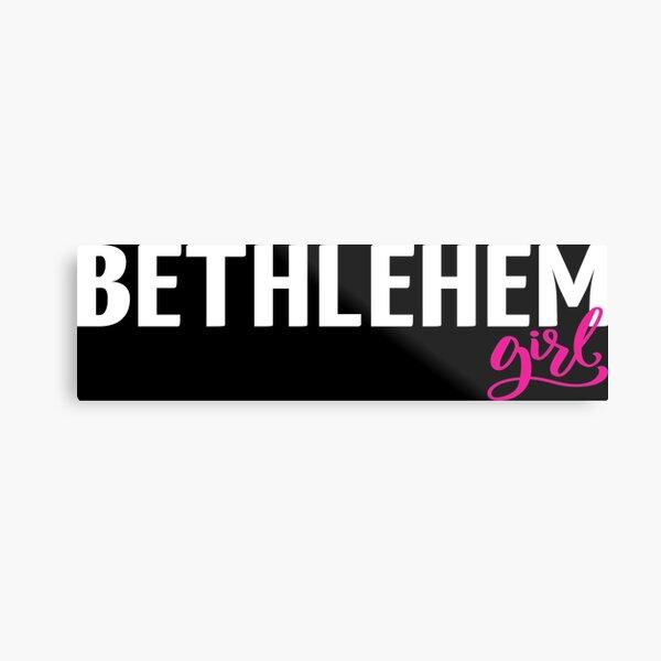 Bethlehem Girl Metal Print