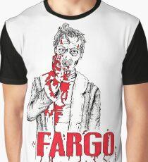 Steve Buscemi in Fargo Graphic T-Shirt