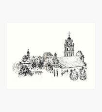Vilnius View Art Print