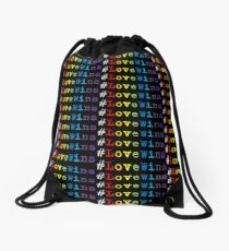 #LoveWins Drawstring Bag