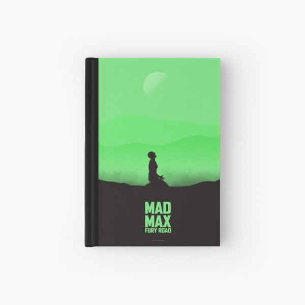 Mad Max Fury Road minimalist poster Hardcover Journal