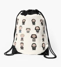 The Musketeers Cast (bag/pillow) Drawstring Bag