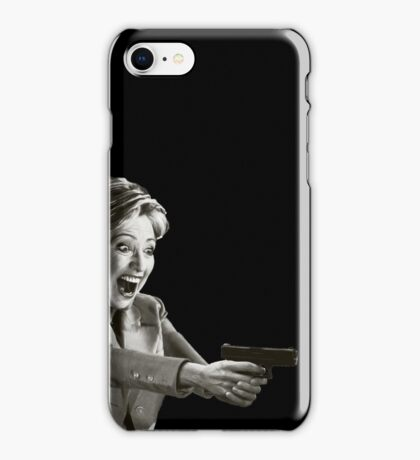 Hillary Master Blaster iPhone Case/Skin