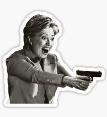 Hillary Master Blaster Sticker