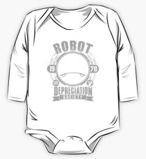 Robot Depreciation Society - Marvin the Paranoid Android One Piece - Long Sleeve