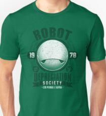 Robot Depreciation Society - Marvin the Paranoid Android Unisex T-Shirt