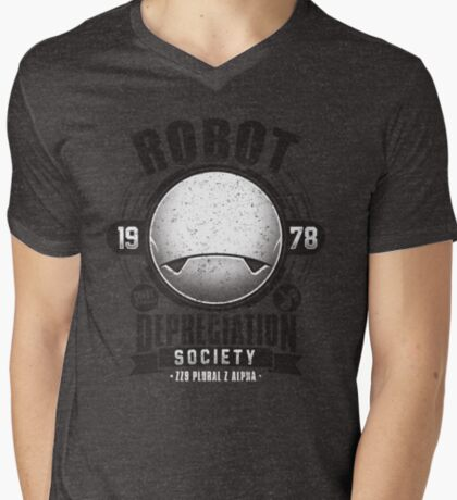 Robot Depreciation Society - Marvin the Paranoid Android T-Shirt