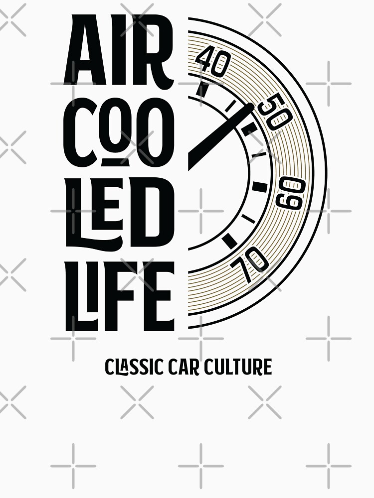 Air cooled Life - Speedo tachometer Gauge Classic Car Culture by Joemungus