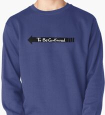 To Be Continued- Black Pullover