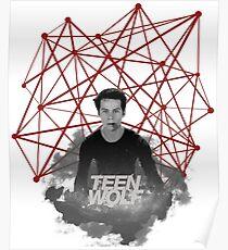 Stiles Stilinski Connected Lines Poster