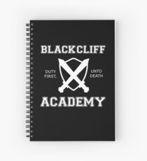 BLACKCLIFF ACADEMY- An Ember In The Ashes - WHITE Spiral Notebook
