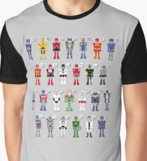 Transformers Alphabet Graphic T-Shirt