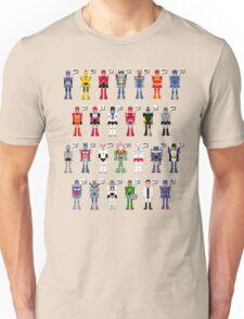 Transformers Alphabet Unisex T-Shirt