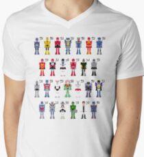 Transformers Alphabet Men's V-Neck T-Shirt