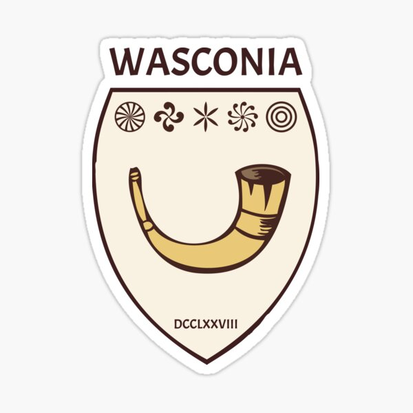 Wasconia 778 - Cor brisé de Roland, trophée vascon Sticker