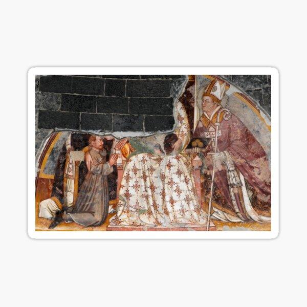 Early Christian bishop, Saint Nicholas of Myra Sticker