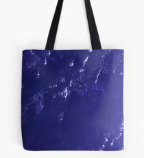 Marshall Islands Bikini Atoll Satellite Image Tote Bag