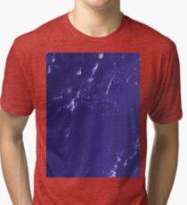 Marshall Islands Bikini Atoll Satellite Image Tri-blend T-Shirt