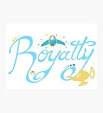 Royalty - Show you the world Photographic Print