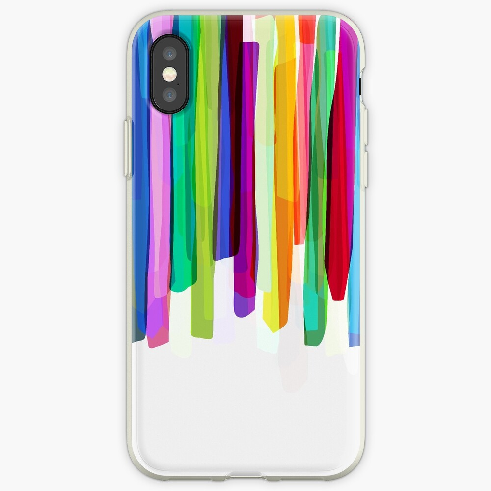 Colorful Stripes 2 iPhone-Hülle & Cover