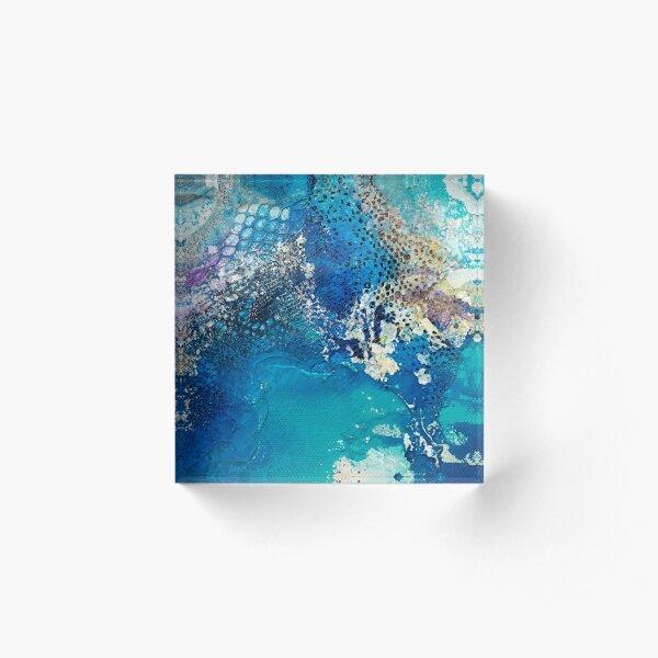 Fragile Coast (Frag 1) Acrylic Block