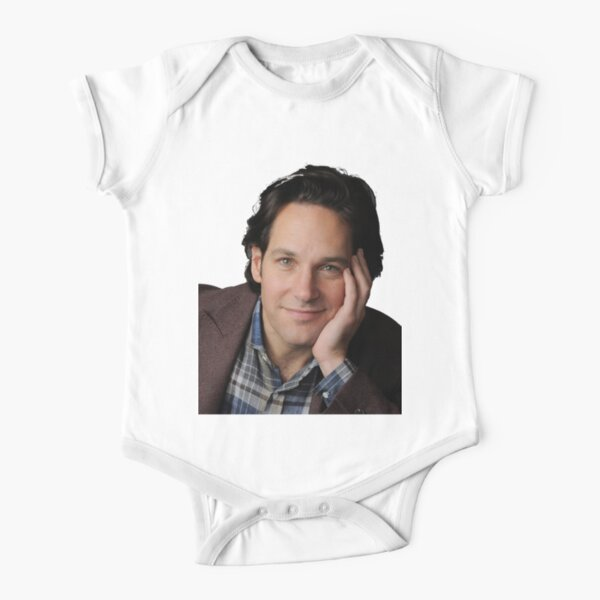 Paul Rudd Short Sleeve Baby One-Piece