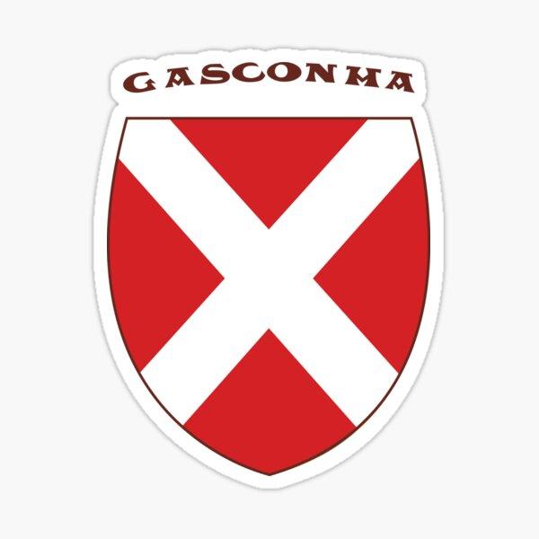 Gasconha - drapeau gascon Sticker