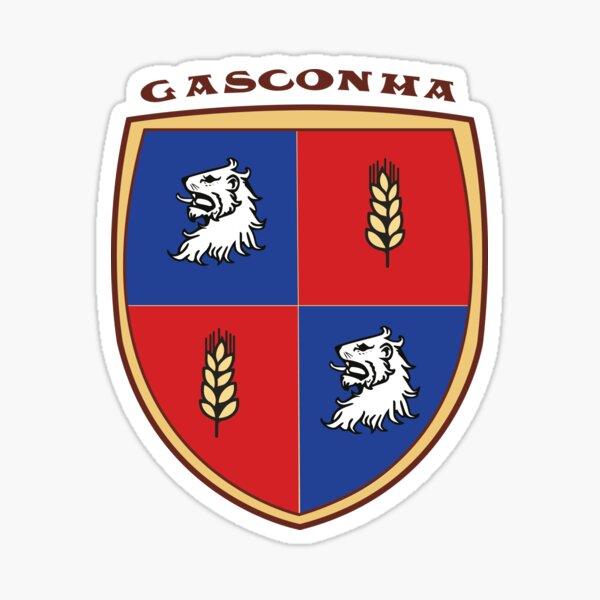 Gasconha - blason gascon simplifié Sticker