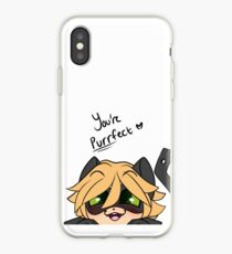 You're Purrfect Chat Noir iPhone Case