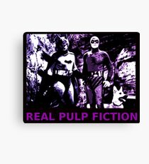 THE REAL PULP FICTION HEROES Canvas Print