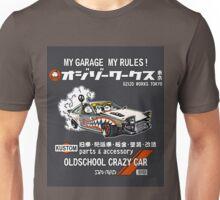 Crazy Car Art 0128 Unisex T-Shirt