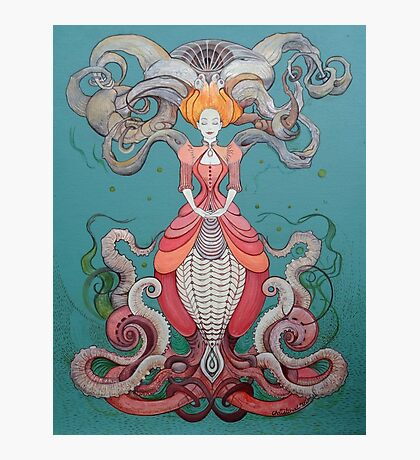 Lady Octopus Photographic Print