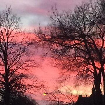 Autumn Sunset by AbbyLevi