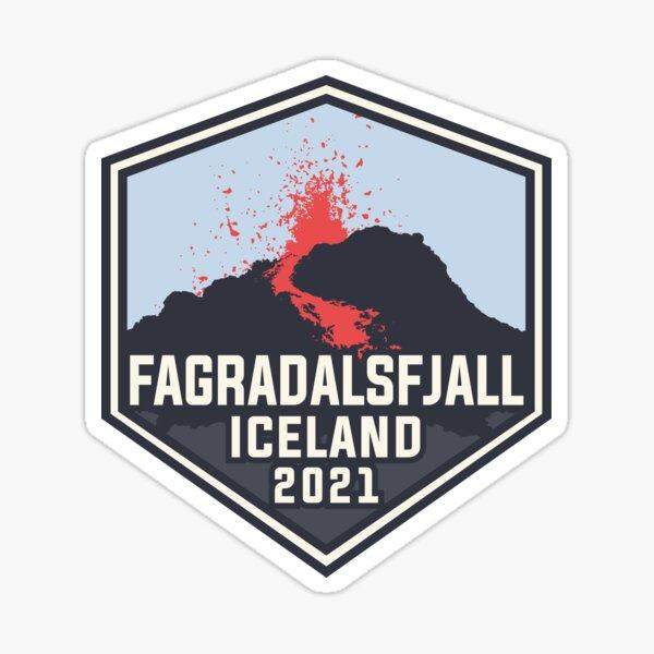 Fagradalsfjall Iceland Sticker