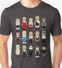 8-Bit Wrestlers 4 Life Unisex T-Shirt
