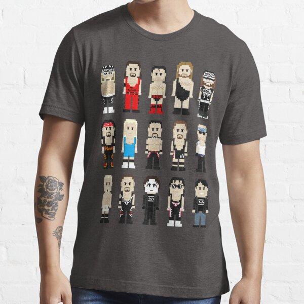 8-Bit Wrestlers 4 Life Essential T-Shirt