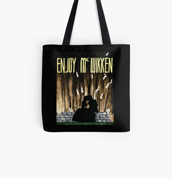 Night of the Squirrels Poster - Enjoy McWikken  All Over Print Tote Bag