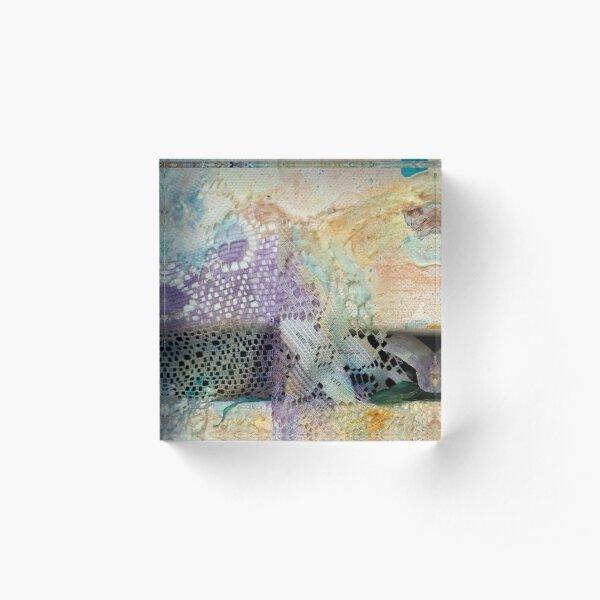 Fragile Coast (Frag 2) Acrylic Block