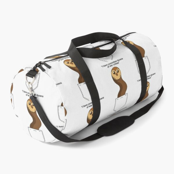 Hooty has committed war crime| Perfect Gift Duffle Bag