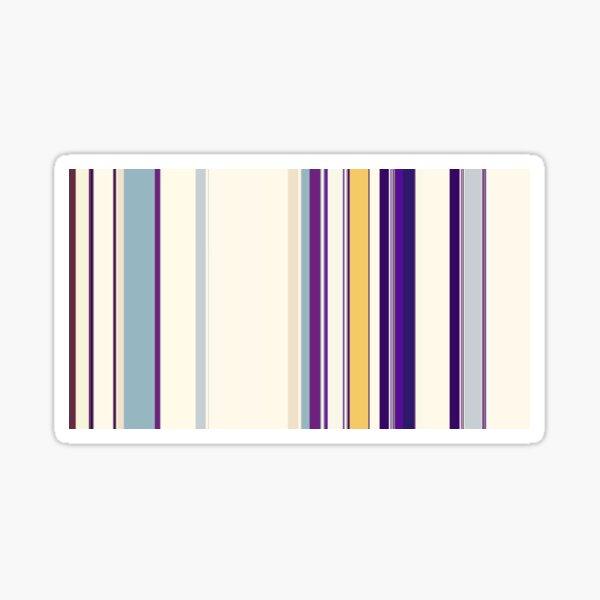 Multi Color Vertical Stripes 13 Sticker