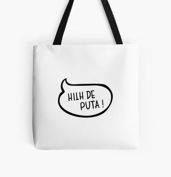 Bulle - Hilh de puta Tote bag doublé